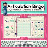 Speech Therapy Articulation Bingo
