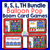 Speech Therapy Articulation Boom Card Games BUNDLE for R,