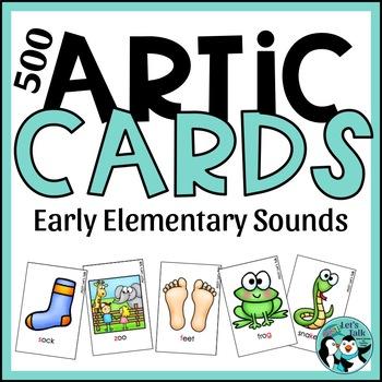 Articulation Cards for /k, g, f, v ,s, z/