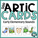 Articulation Cards for /k, g, f, v ,s, z/
