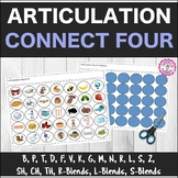 Speech Therapy Articulation Connect Four