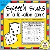 Speech Therapy Articulation Game for CH, SH, and DG Sounds