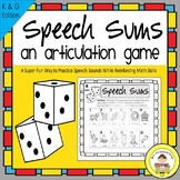 K and G Articulation Game for Speech Therapy