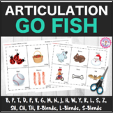 "Speech Therapy: Articulation ""Go Fish"" Decks ALL SOUNDS"