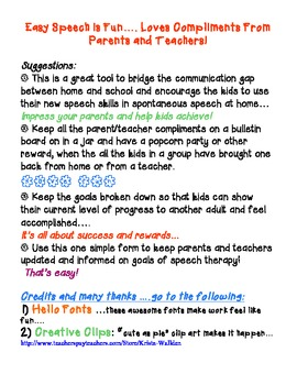 Speech Therapy: Articulation Language Carryover
