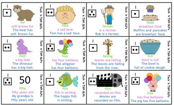 Speech Therapy Articulation Practice Pack for F