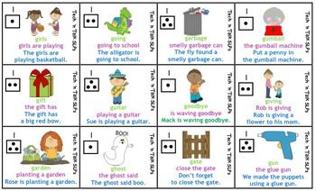 Speech Therapy Articulation Practice Pack for G