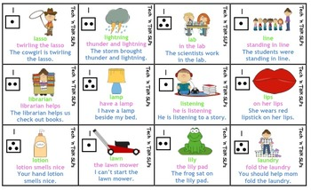 Speech Therapy Articulation Practice Pack for L