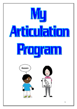 Speech Therapy - Articulation Program