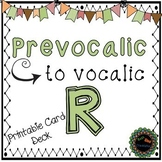Articulation Card deck for Prevocalic to Vocalic R