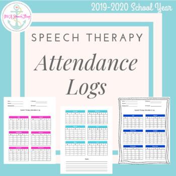 Speech Therapy Attendance