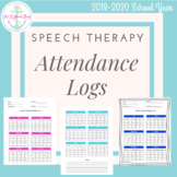 Speech Therapy Attendance