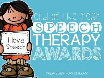 Speech Therapy Awards