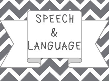 Speech Therapy - Banner/Poster