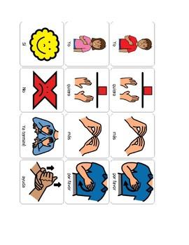 Spanish Speech Therapy Basic Sentence Starters