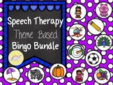 Speech Therapy Theme Based Bingo Bundle