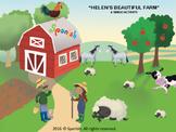 Farm Bingo: A Game on Vocabulary, Description & Actions (E