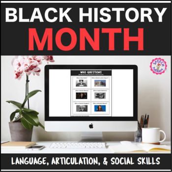 Speech Therapy Black History Month: Language, Artic, & Social Pragmatics