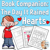 Speech Therapy Book Companion: The Day It Rained Hearts