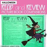 Halloween Book Companions | Speech Therapy | NO PREP Print