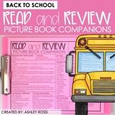 Speech Therapy Book Companions | SCHOOL | Google Slides™️
