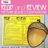 Speech Therapy Book Companions | FALL THEME | Google Slide
