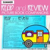 Speech Therapy Book Companions | SUMMER | Google Slides™️
