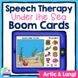 No Print Speech Therapy Boom Cards for Articulation and Language | Under the Sea