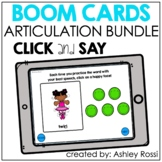 Articulation Bundle | Boom Cards™️ Speech Therapy Distance