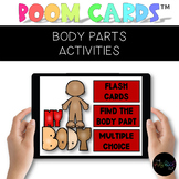 Speech Therapy Boom Cards™ Distance Learning: Body Parts