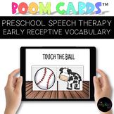 Speech Therapy Boom Cards™ Distance Learning: Early Recept