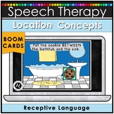 Speech Therapy Boom Cards Location Concepts Distance Learning