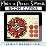Speech Therapy Boom Cards - Pizza Themed