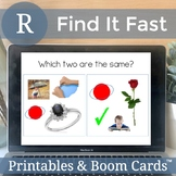Boom Cards Speech Therapy R Articulation No Print Digital Activity