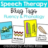 Speech Therapy Reward Tags: Fluency and Phonology