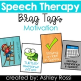 Speech Therapy Reward Tags: Motivation