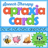 Apraxia Cards for Apraxia of Speech