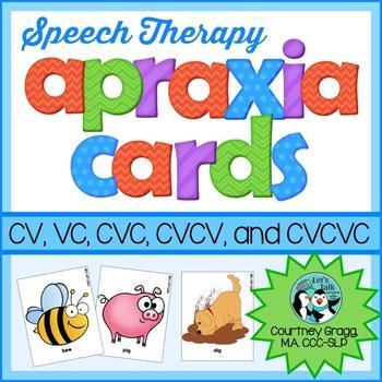 Apraxia Cards for Apraxia of Speech