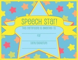 Speech Therapy Certificate - FREE