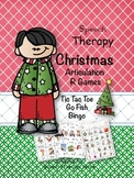 Speech Therapy Christmas Articulation R Games