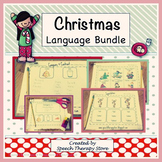 Speech Therapy Christmas Language