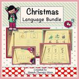 Speech Therapy Christmas Language