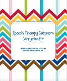 Speech Therapy Classroom Carryover Kit
