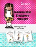 Speech Therapy Communication Breakdown Strategies for Life