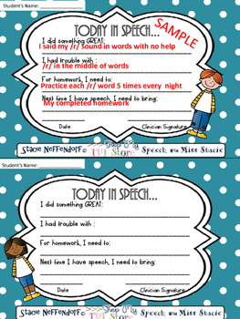 Speech Therapy Communication Cards