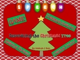 Speech Therapy:  Communication; Picture Cards; Decorating Christmas Tree; Autism