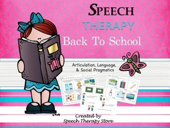 Speech Therapy Complete Fall & Winter Holiday Bundles: Get 2 FREE!