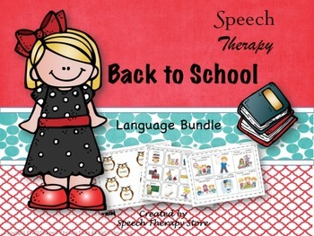 Speech Therapy Complete Fall & Winter Holiday Language Bundles: Get 2 FREE!
