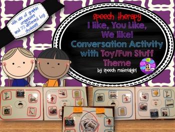 Speech Therapy Conversation Social Communication Activity