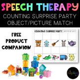 Speech Therapy: Counting Surprise Party Companion Object P